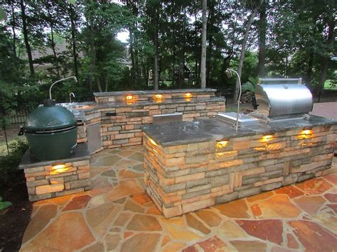 these built lights allow homeowners the chance safely cook yourself wooden boards build canopy outdoor kitchen island
