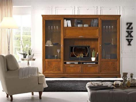 pareti soggiorno attrezzate consigli per la scelta delle pareti attrezzate classiche