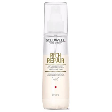 Serum Spray goldwell dualsenses rich repair restoring serum spray 150 ml