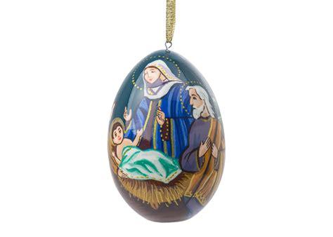 nativity ornament at goldencockerel com