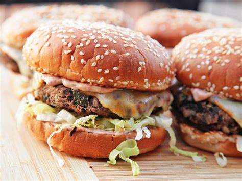 2 awesome homemade vegetarian burgers even a carnivore will crave serious eats