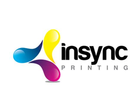 Home Graphic Design Business Logo Design Entry Number 170 By 50 Insync Printing Logo