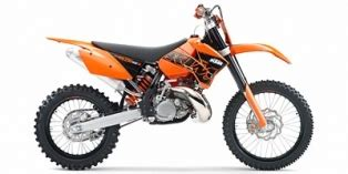 2007 Ktm 200 Xc Review 2007 Ktm Xc 200 W Reviews Prices And Specs