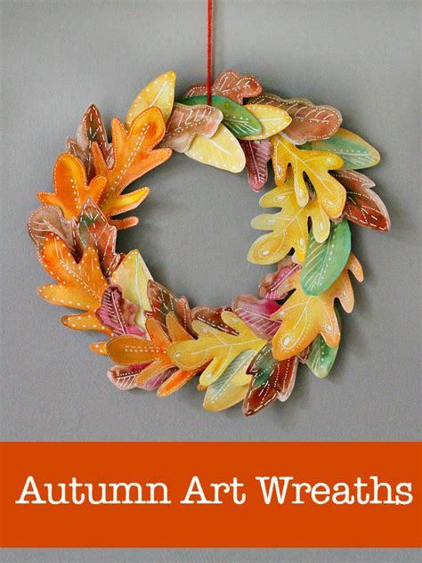 easy wreath crafts 10 beautiful fall wreath projects nurturestore