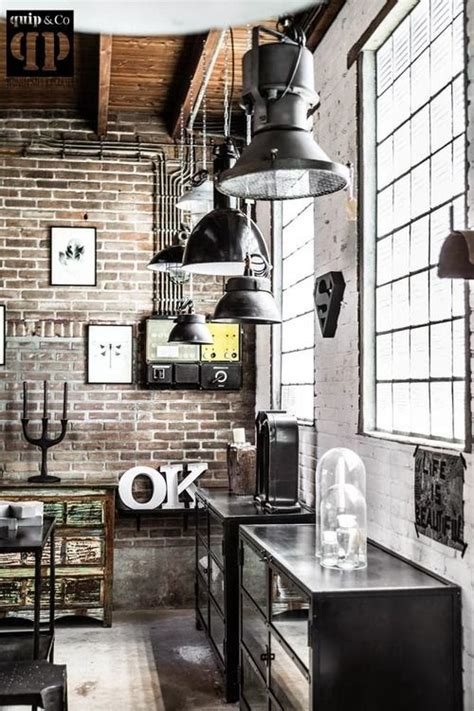 industrial interiors home decor 1000 ideas about vintage industrial decor on