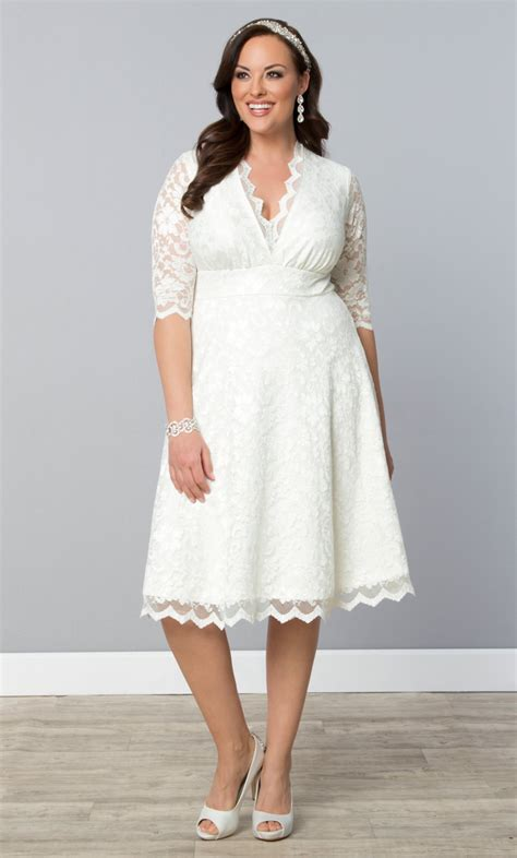 Wedding Plus Size Dresses by Wedding Dress Kiyonna Clothing
