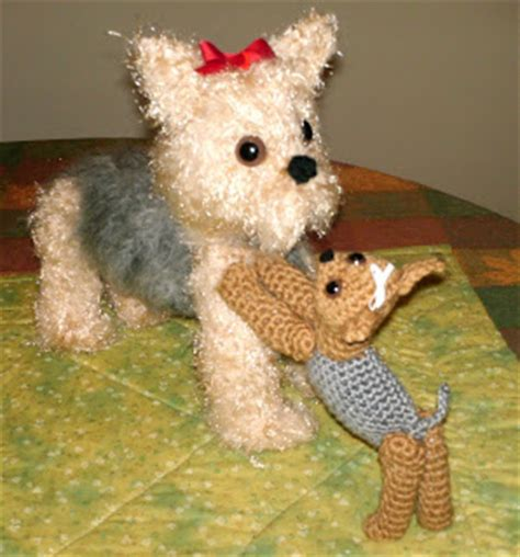 free crochet yorkie dog pattern with video the whoot amazing greys crochet yorkie puppy crochet pattern is out