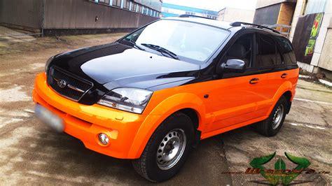 Kia Sorento Orange Kia Sorento Neon Orange Glanz Scheibent 246 Nung