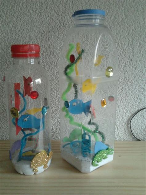 bottel oorgetrek met net pinterest 25 beste idee 235 n water knutselen kinderen op waterfles knutselen vis ambachten