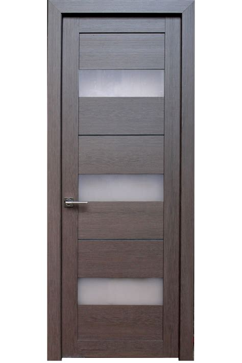 Interior Door Finishes Quot Eldorf Quot Mfd Laminate Interior Door In Cognac Finish With Frosted Glass