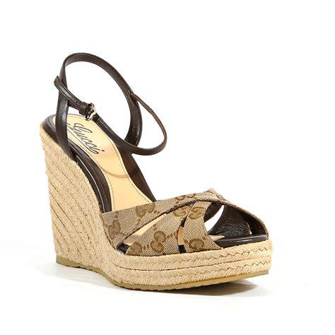 gucci womens sandals gucci womens shoes original gg nappa beige