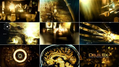 Director Of Ex Machina by Deus Ex Human Revolution 2011 Art Of The Title