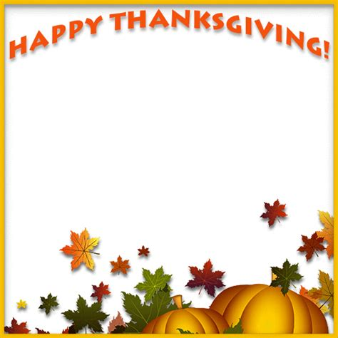 free thanksgiving clipart thanksgiving pumpkin border clipart clipartxtras