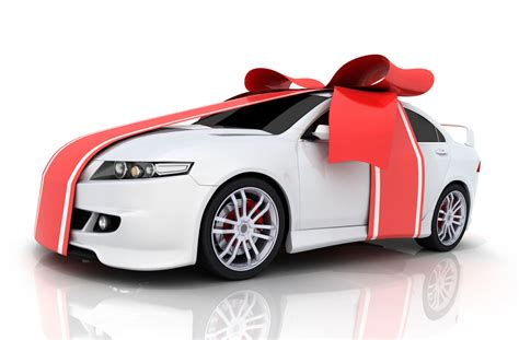 buying a car as a christmas gift really