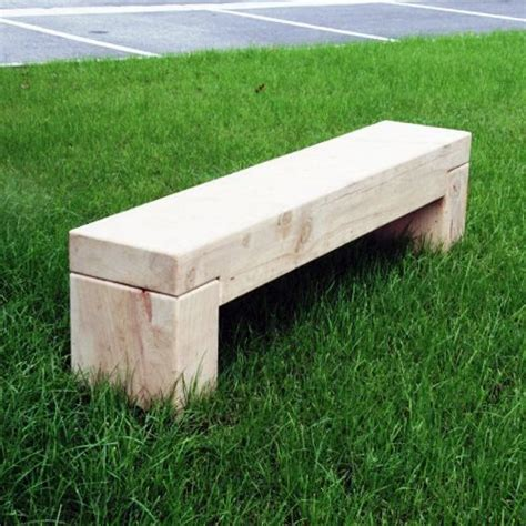 timber bench macrocarpa heavy weight timber bench 187 street furniture nz