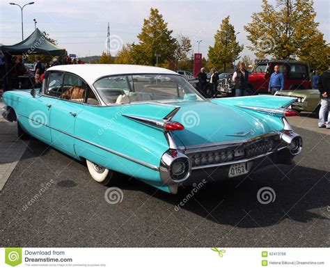 popular car for 50 year old vintage american classic car cadillac 50 60 180 s editorial