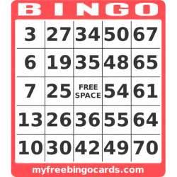 Free printable 1 75 number bingo card generator