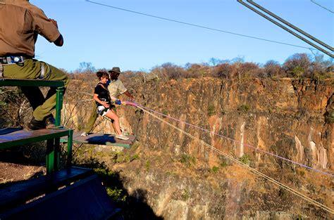 vic falls gorge swing gorge swing zimbabwe irina chernetskaya