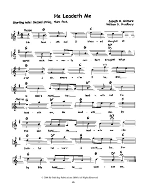 Hymns Guitar Chords And