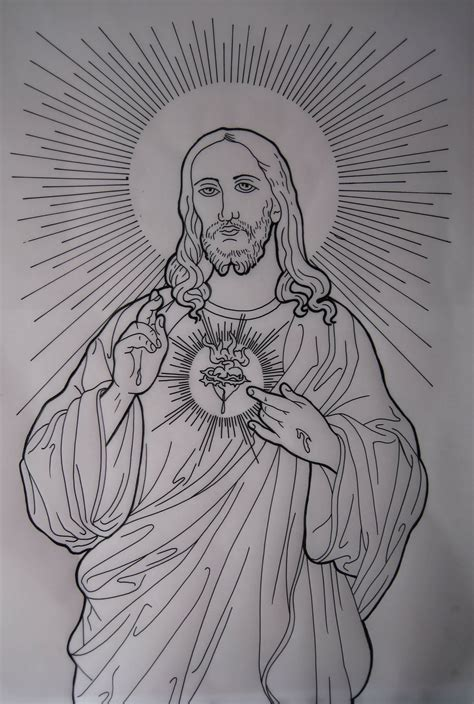 draw beautiful jesus tattoo design tattooshunter com