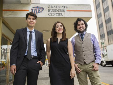 Bs Mba Programs by Utep S Coba Mba Programs Earn State Rankings Utep News