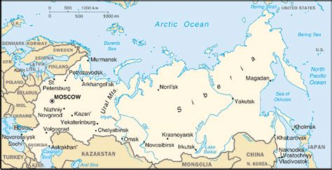 map of russia with cities rivers and mountains russian explorations gas logistics