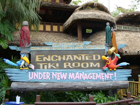 the enchanted tiki room new management enchanted tiki room the disney driven