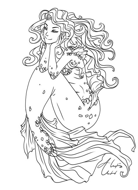 coloring pages of people s hair wavy hair ol by alexisunderwoodarts on deviantart