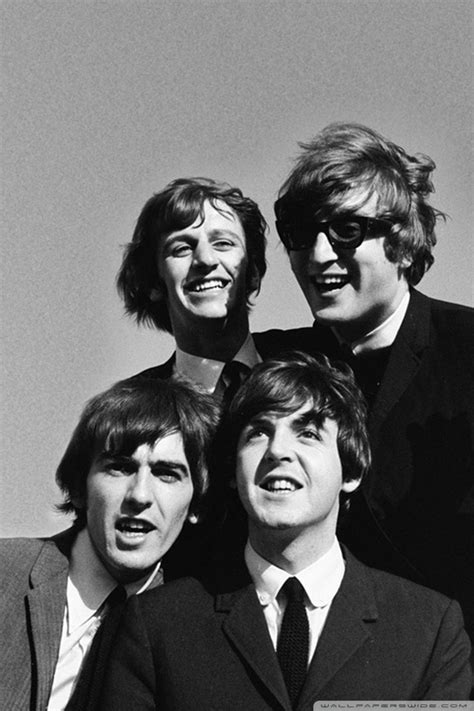The Beatles Black White Iphone All Hp the beatles black and white wallpaper