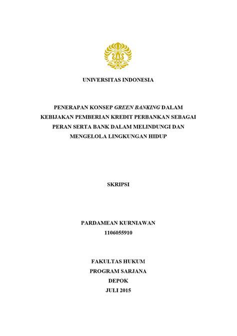 format skripsi universitas indonesia format judul skripsi ui desain grafis digital printing