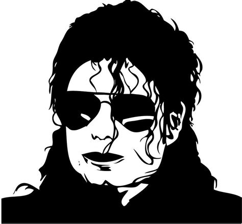 Mj 12d michael jackson silhouette car decal window sticker