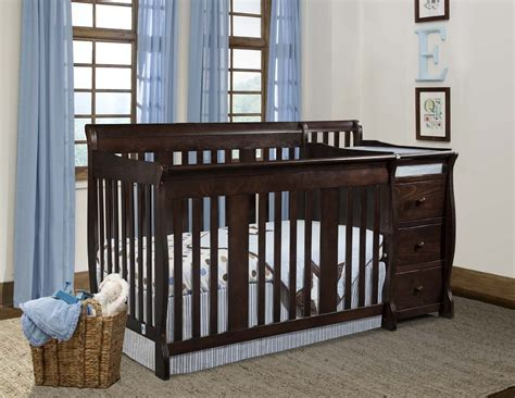 Cherry Wood Baby Crib Best Cherry Wood Crib With Changing Table Optimizing Home Decor Ideas