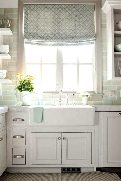farmhouse sink with backsplash backsplash window shade farm sink take time to make a home pint