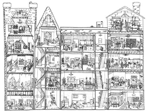 apartment coloring page nice and cozy apartment coloring pages nice and cozy