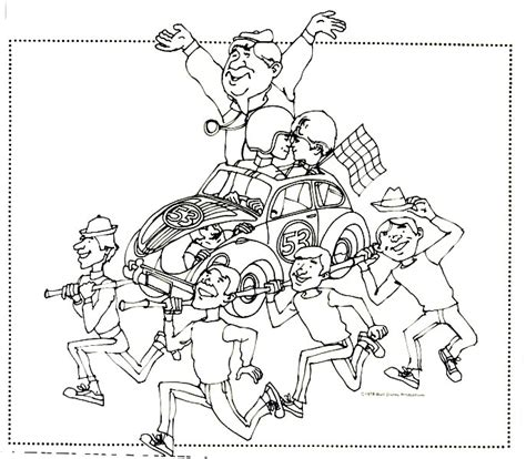 herbie the coloring pages