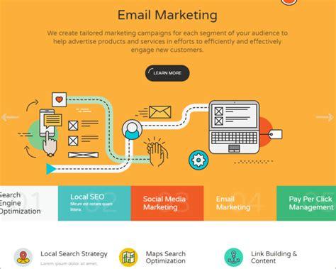 templates for marketing website 30 social media website templates free download