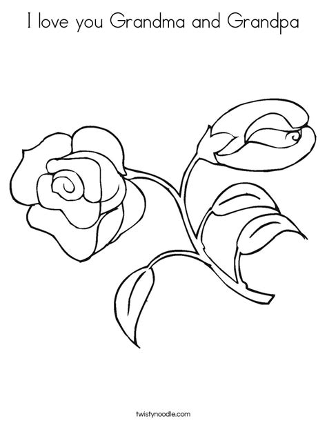 free coloring pages of that say i love you grandpa
