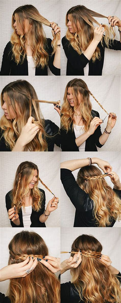 winter hairstyles steps simple step by step winter hairstyle tutorials for