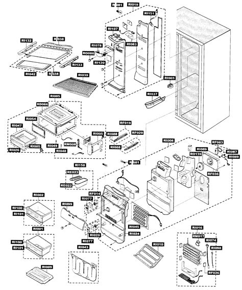 samsung refrigerator parts diagram refrigerator parts samsung refrigerator parts diagram