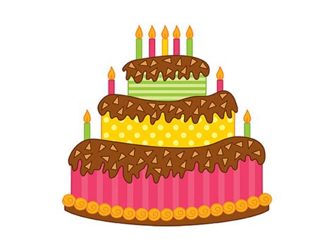 torta clipart torte clipart digitale vektor kuchen happy birthday