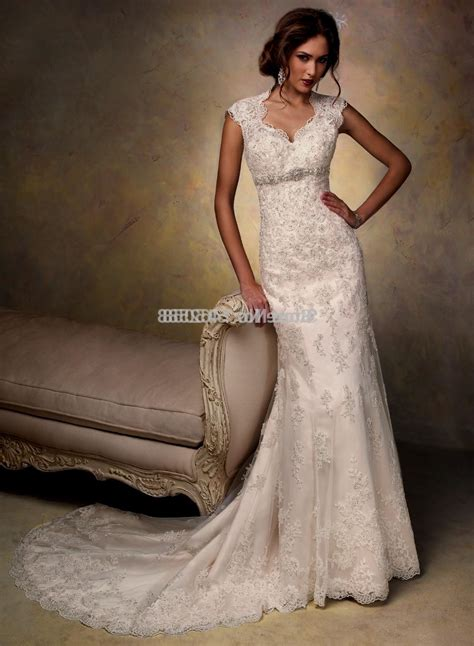 Wedding Dresses Cap Sleeves by Lace Wedding Dresses With Cap Sleeves Naf Dresses