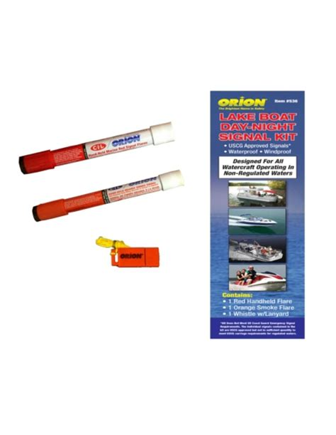 boat safety flares canada signaling kit by orion part no lake kit 536 canada