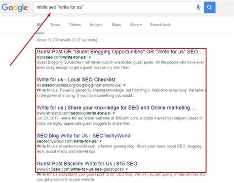 blogger user search how to use search operators to find link building