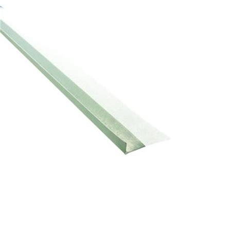 cgc sheetrock paper faced metal trim b4 1 2 in l shape