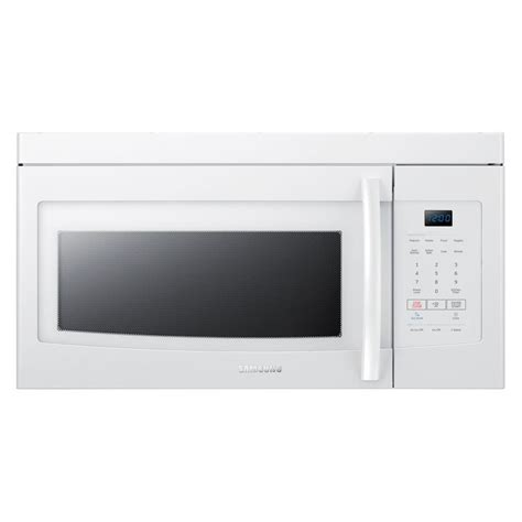 Samsung Microwave Oven samsung 1 6 cu ft the range microwave in white