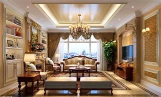 Classic Interior Design neo classic living room design
