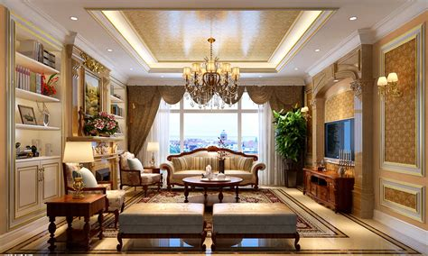 neo classic living room design