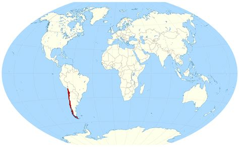chile location on world map where is chile on the world map
