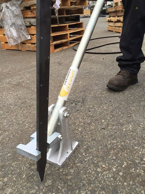 Pigeon Puller Penarik Flat Puller stake puller with two plates domestic stakes