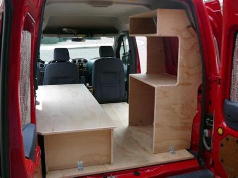 cheap rv living.com  converting a ford transit connect